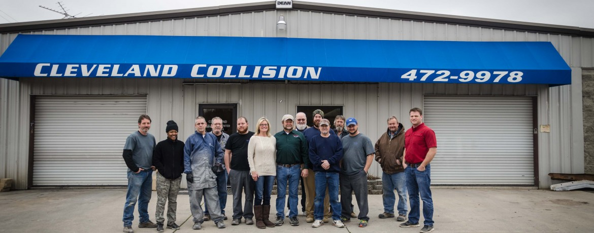 Thank you for visiting Cleveland's Premier Collision Repair Center!